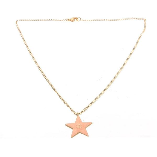 Chanel Gold Star Necklace