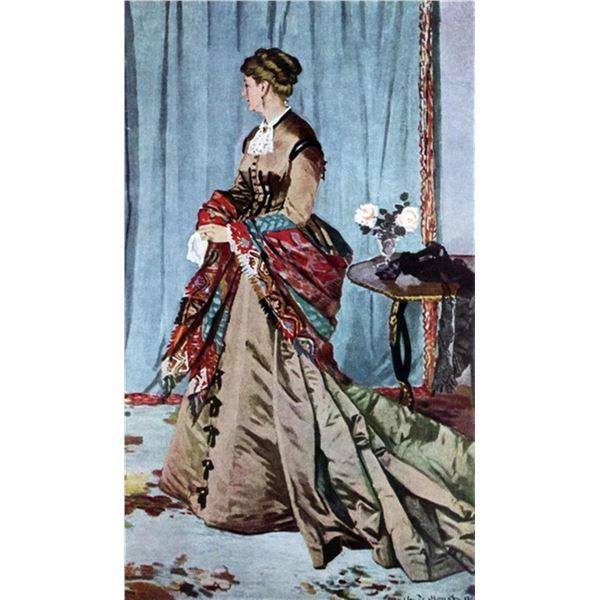 Claude Monet - Madame Gaudibert