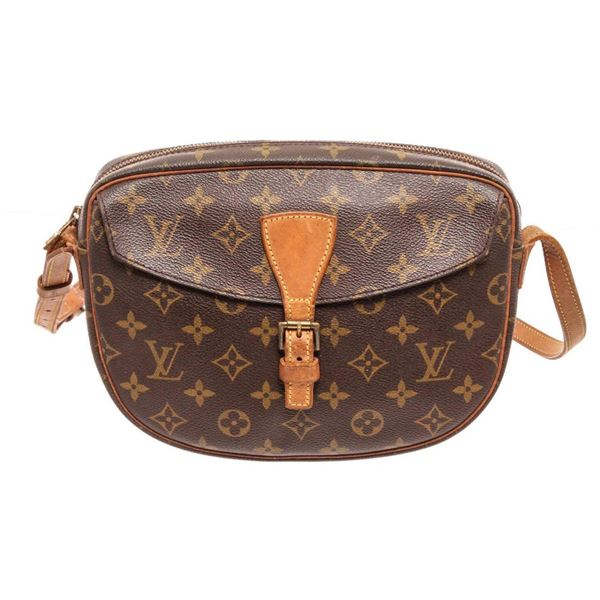 Louis Vuitton Brown Monogram Jenue File Crossbody Bags
