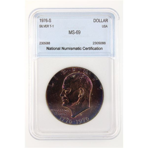 1976-S Ike Dollar NNC MS-69 T1