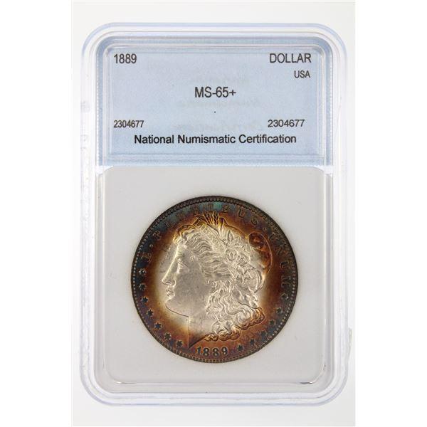 1889-O Morgan Silver Dollar NNC MS-65   Price Guide $5500 INCREDIBLE TONING!!