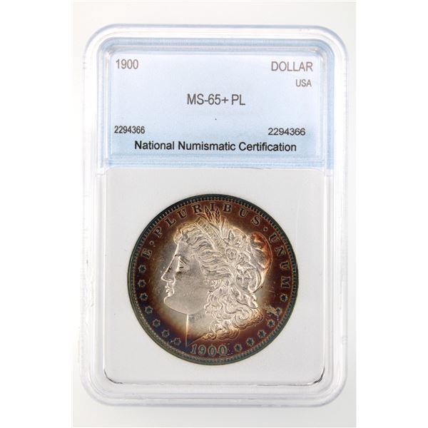 1900 Morgan Silver Dollar NNC MS-65+ PL Price Guide $4750