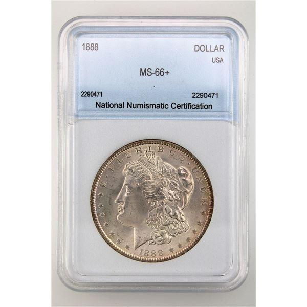 1888 Morgan Silver Dollar NNC MS-66+  Price Guide $1300