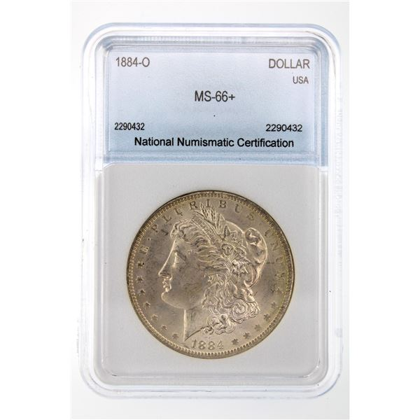 1884-O Morgan Silver Dollar NNC MS-66+  Price Guide $550