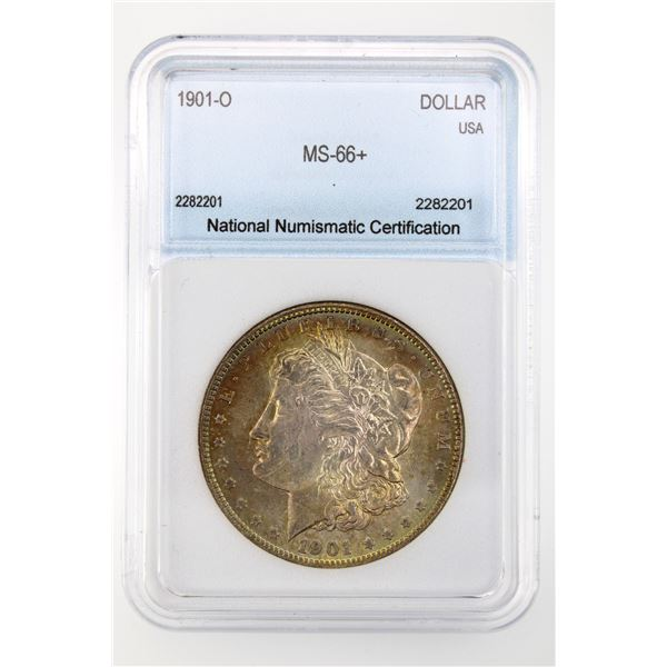 1901-O Morgan Silver Dollar NNC MS-66+  Price Guide $3250