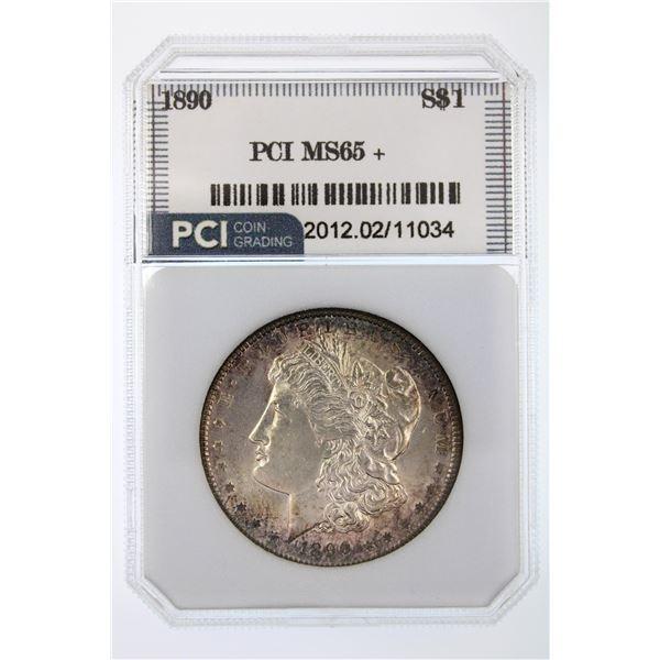 1890 Morgan Silver Dollar PCI MS-65+ RARE IN 65+ Price Guide $3000