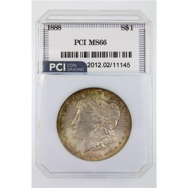 1888-O Morgan Silver Dollar PCI MS-66  Price Guide $1500