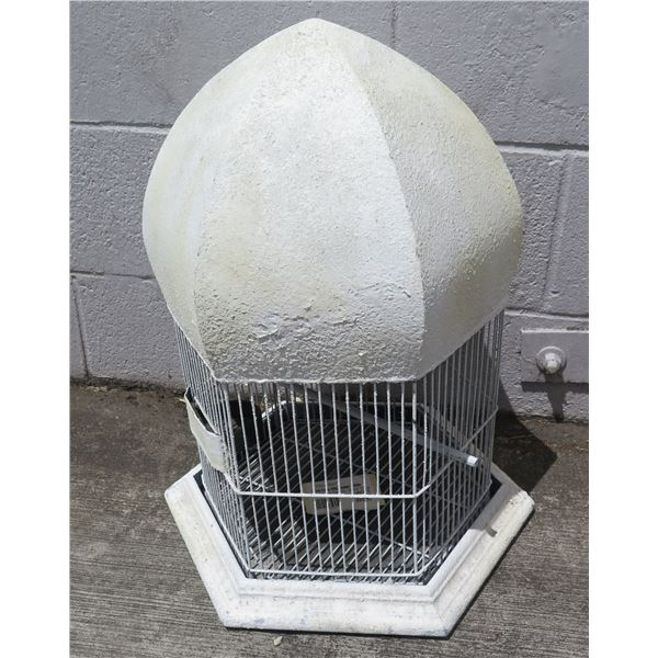 Bird Cage w/ White Dome Top & Removable Base (Retail $179, Sale $99)