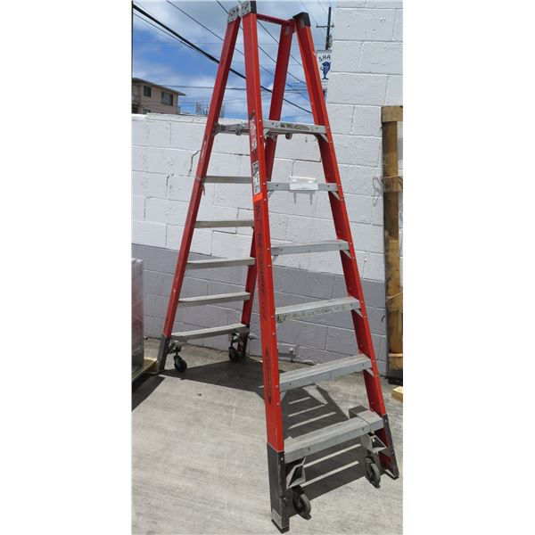 Werner Extra Heavy Duty 6' Ladder Load Capacity 300 lbs, Type 1A