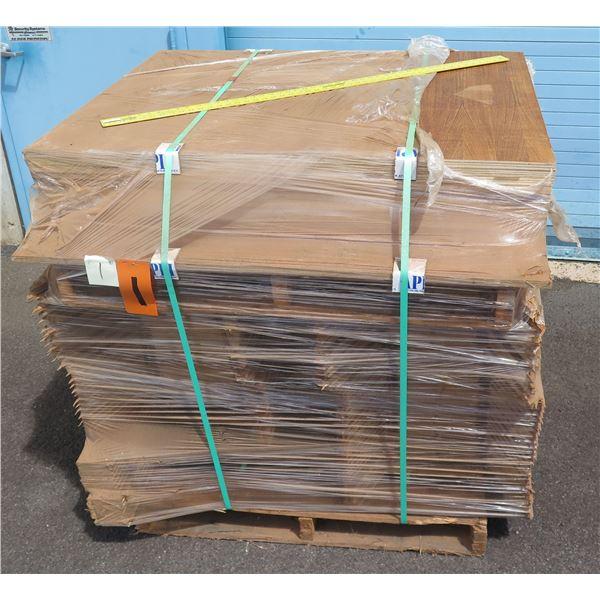 Pallet 3/4 Teak Plywood 48 x45 x36 H