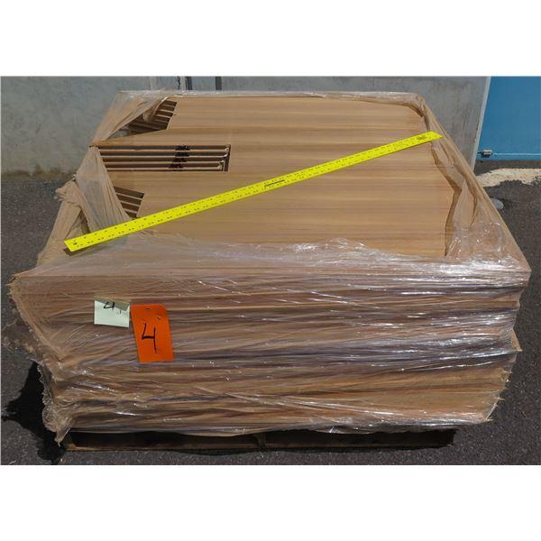 Pallet 3/4 Teak Plywood 48 x45 x18 H