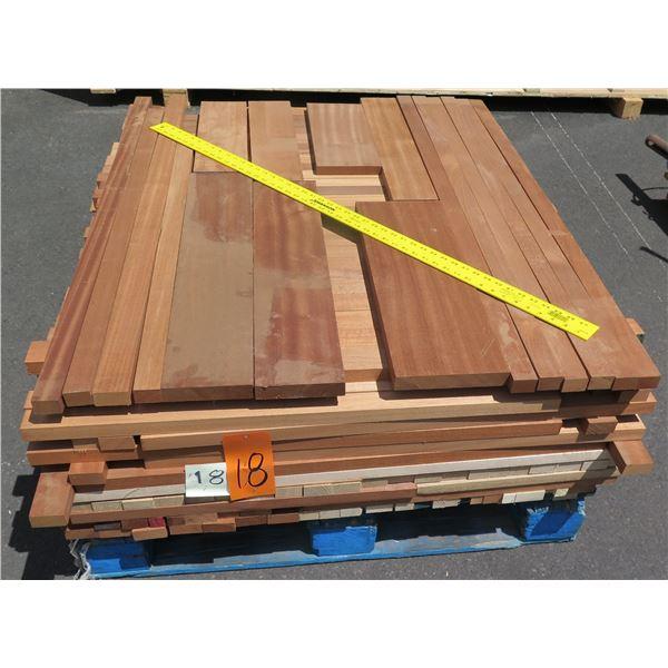 Pallet Mix Oak, Mahogany, Sapele, Pop 40 x48 x14 H