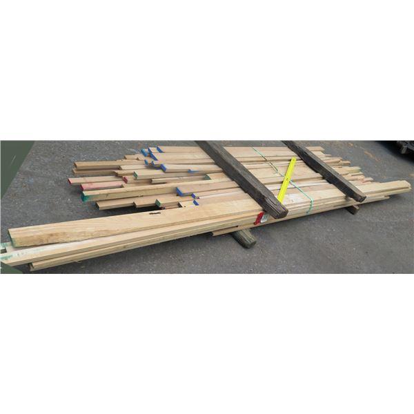 """Bundle 4/4 Oak 62""""x40""""x10'"""