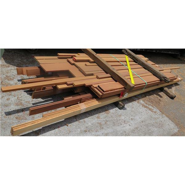 Bundle Salvage Parts & Louvers 8 x38 x10'