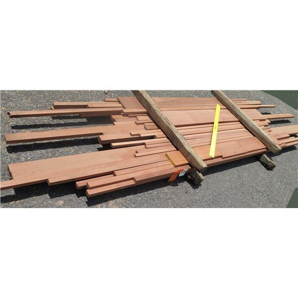 Bundle 4/4 Sapele 2 Layer x 39 x9'