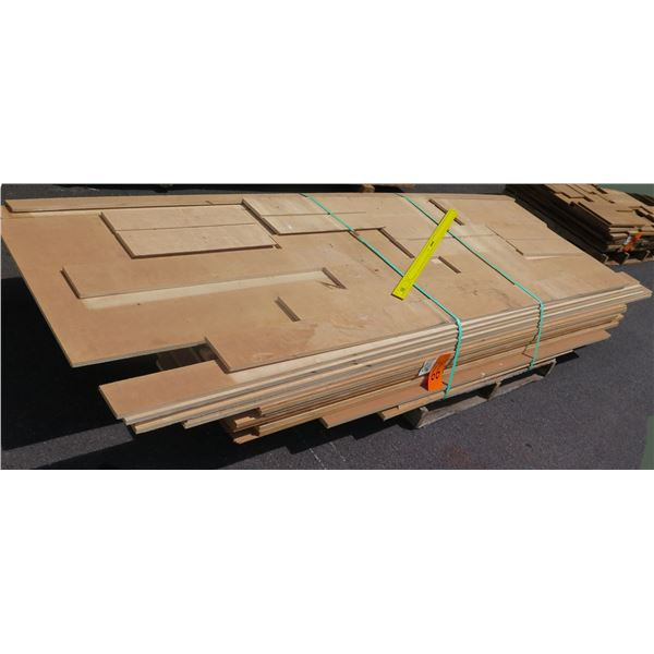 """Pallet 3/4 Plywood Riping 14 Layer x 40""""x8'"""