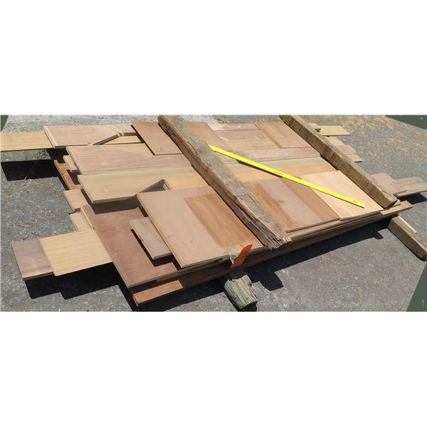 "Pallet 3/4 Plywood Cut Off 5""x48""x8'"