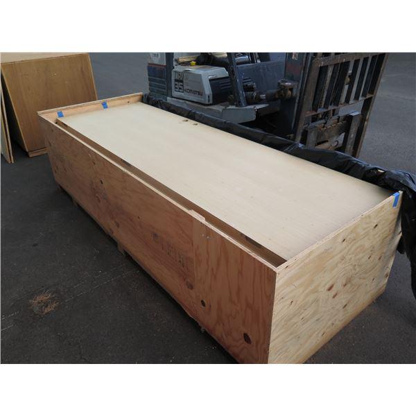 Qty 11 White Oak Flush Doors, Unfinished, Retail Value $21K