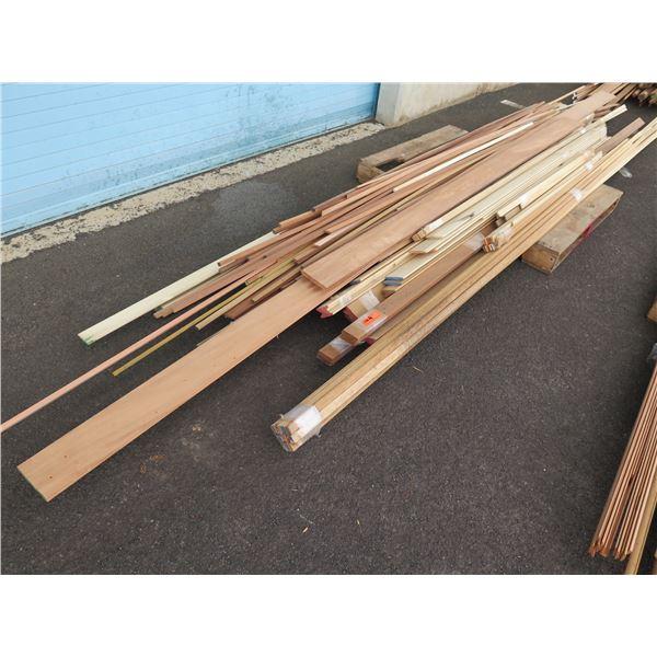 Misc. trims – louver blades, T& G.  Poplar, Fir and Mahogany