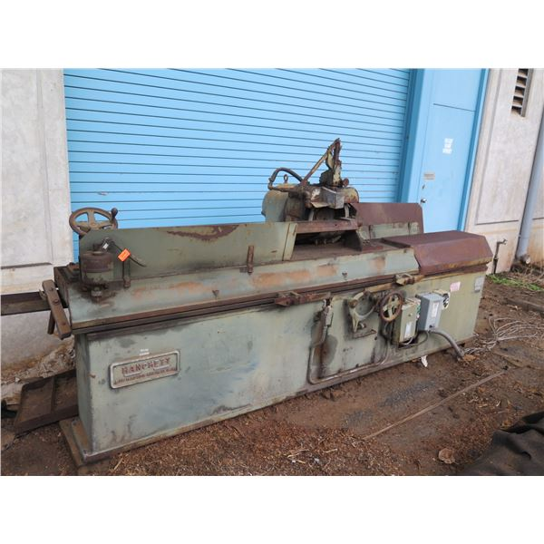 Hanchett Grinder (Used to sharpen long straight knives for wood working machines)