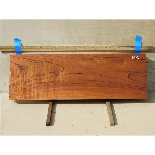 Spanish cedar -- flatsawn,  dramatic growth rings, light curl
