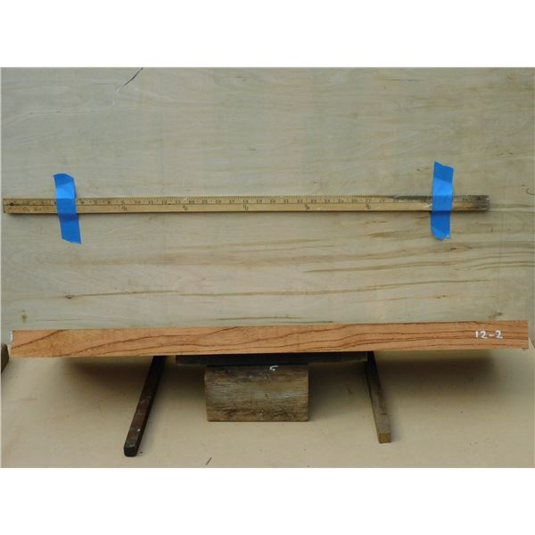 Pride of India -- rift sawn, excellent tonewood for guitar or `ukulele