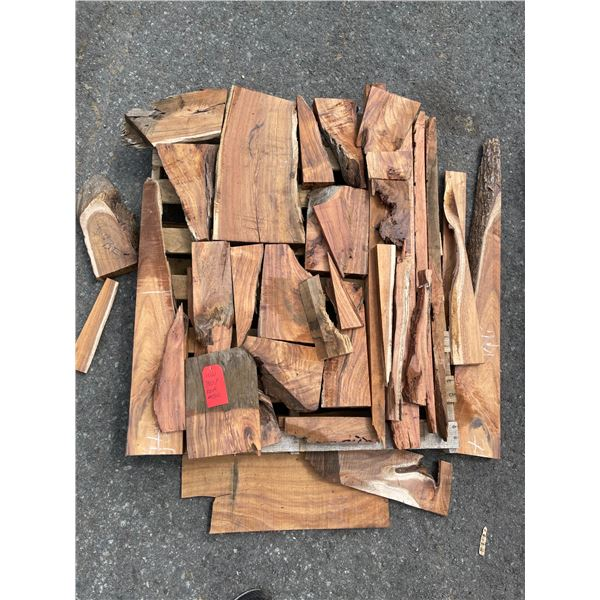 Koa Misc Boards mix of Craft Wood, a Slab, Lumber and cut offs