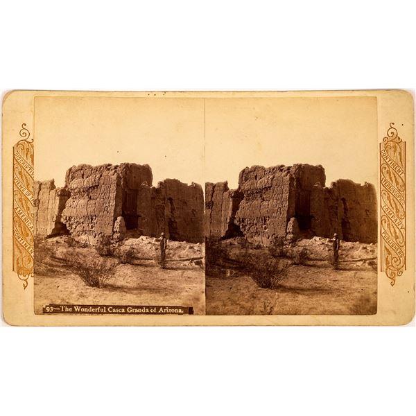 Casa Grande Arizona Ruins Stereoview  [134164]