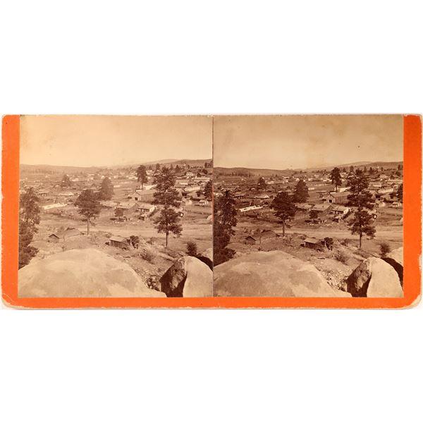 Stereoview of Prescott Arizona Territory by George Rothrock  [137346]