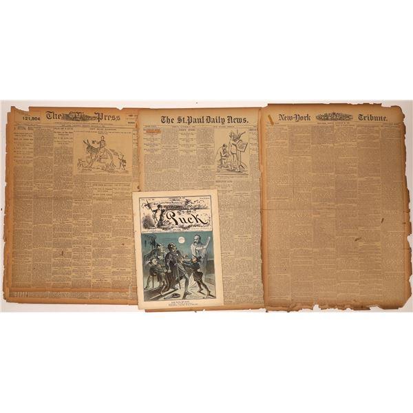 NY Newspaper Accounts of Gunfight at O.K. Corral   [136023]