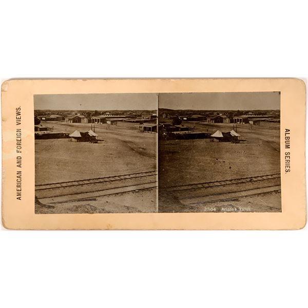 Stereoview of Yuma, Late 19th Century  [137356]