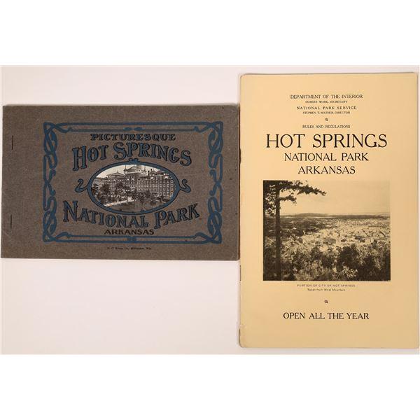 Hot Springs National Park, Arkansas Publications (2)  [137628]