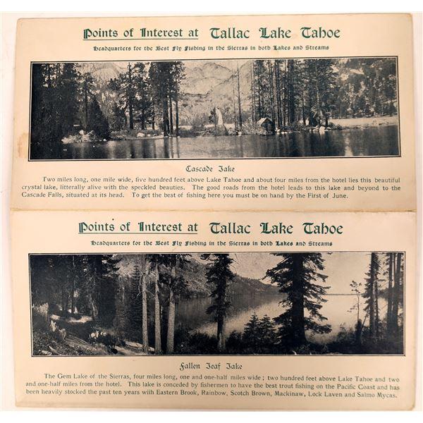 Early Tallac, Lake Tahoe Brochure  [135202]