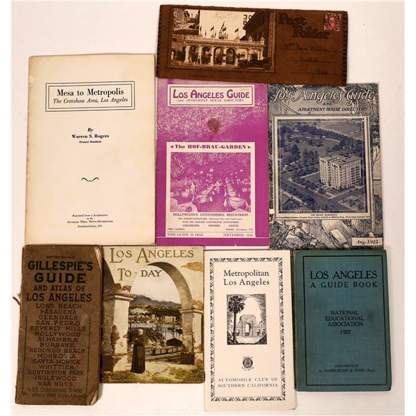 Early Los Angeles Guidebooks  [135826]
