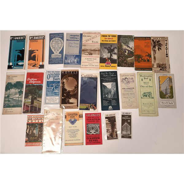 Los Angeles & Southern California Pamphlet Collection  [135810]