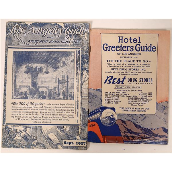 Los Angeles Hotel and Apartment Guides  [135823]