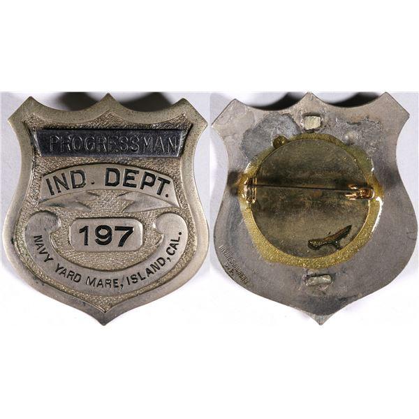 Shipyard Inspector Badge  [132921]