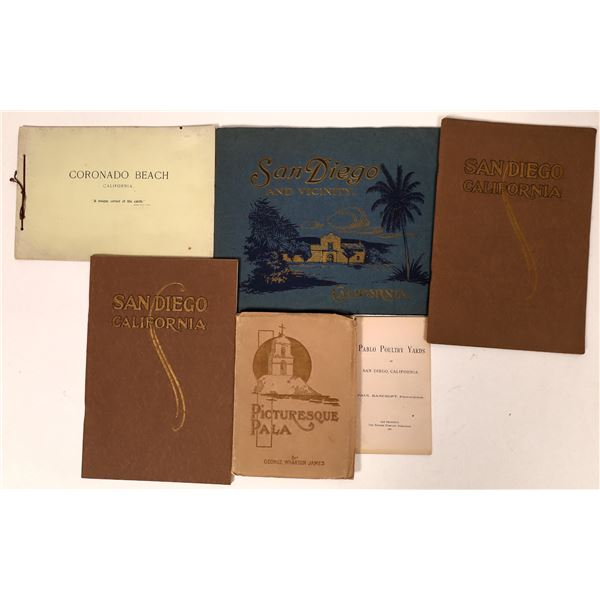 Vintage San Diego Travel Booklet Collection  [135673]
