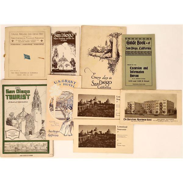 Vintage San Diego Tourist Brochures  [135237]