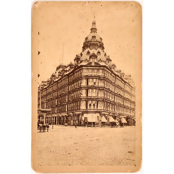 Baldwin Hotel Cabinet Card  [135726]