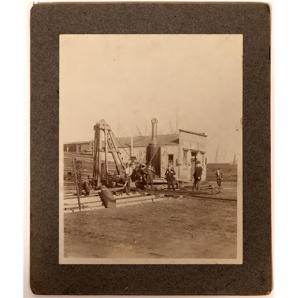 Mounted Photo of The Enterprise Newspaper Building in SF  [135773]