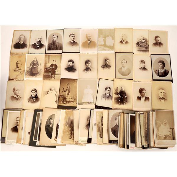 San Francisco  Cabinet Card Photograph Collection (110)  [137452]