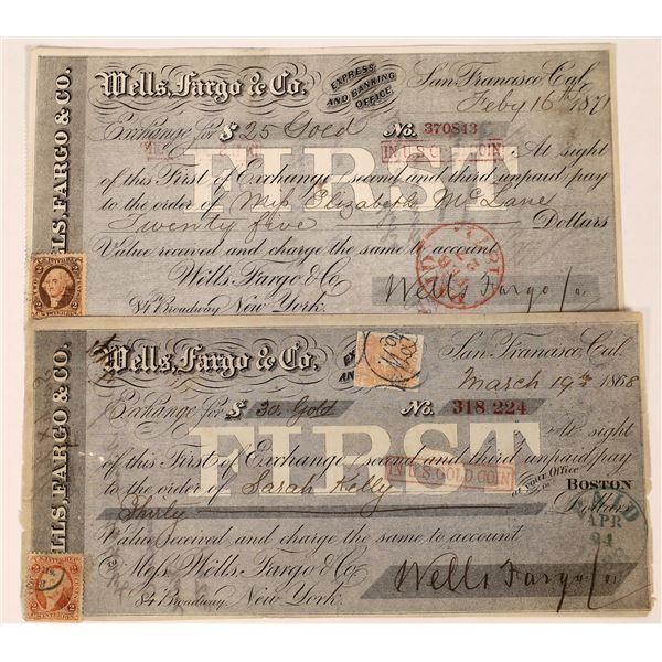 Wells Fargo & Co. First Bill of Exchanges  [123735]
