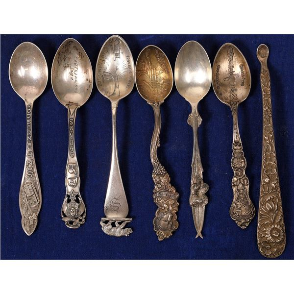 Sterling Silver San Francisco Souvenir Spoons  [135954]