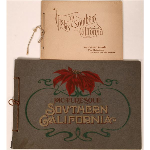 Two Nice Southern California Souvenir Booklets  [135825]