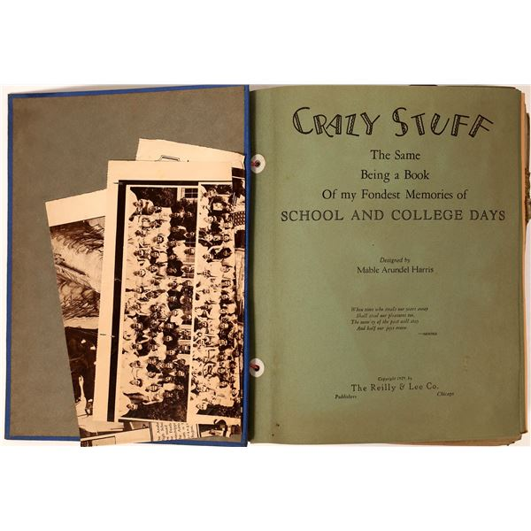 Scrap Book from 1929 Southern California  [135683]
