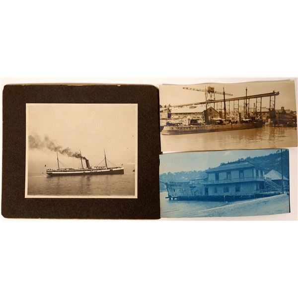 Vintage California Ship & Steamer Photographs  [135733]