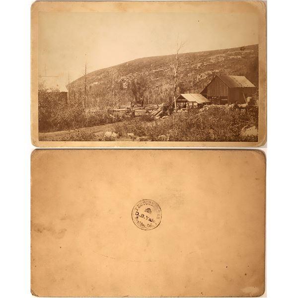 Colorado Sawmill Cabinet Card  [135834]
