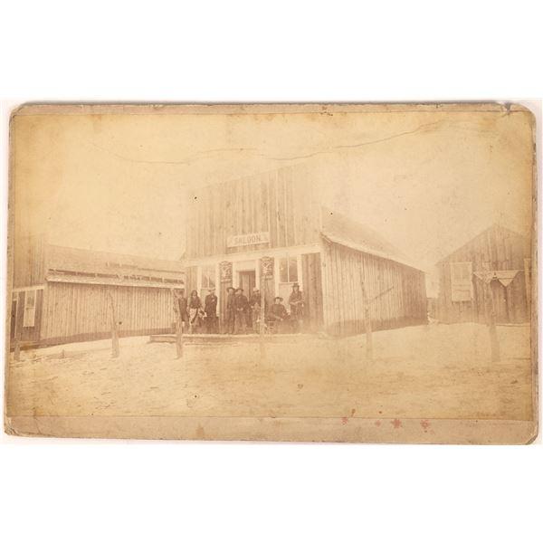 Boudoir Photograph of Creede, Colorado Saloon  [134179]