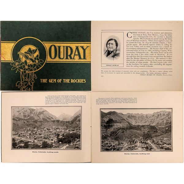Ouray Gem of the Rockies Brochure  [132636]
